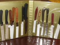 Brand new steak knife collection of 18 pieces!