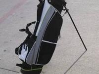 New full set of adult right-handed TiTech golf clubs