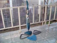 Hoover TwinTank Steam Mop, model #WH20200. It is in