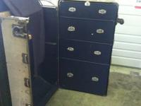 Nice old steamer trunks. In good condition. One
