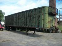 This is a 1989 Steco 45' Trailer, model: sw045102, open