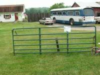 I HAVE A STEEL FARM GATE UP FOR SALE I DO NOT HAVE MY