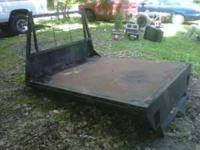 Have a steel flat bed that would fit a small or full