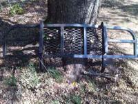 Sturdy steel construction. Protects grill and