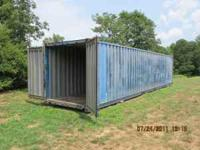 40ft Steel Shipping Container, Wind and Water tight, 2