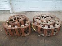 For sale 1 pair steel skidloader tracks that will fit