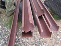 STEEL STUDS QTY 7 10 FT X 4 INCHES WIDE ASKING $10