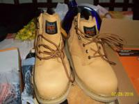 2 pair timberland steel toe boots. a $200.00 deal for