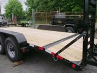 Large selection of Steel Trailers. These trailers are