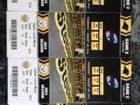 Steeler Pre-season Tickets vs Buffalo section 533 Row N