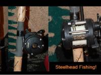 I bought a new Salmon/Steelhead spinning rod (