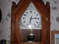 This Steeple Clock is completely handmade including the