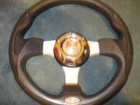 Racing Steering Wheel Universal with quick release