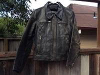 Very cool vintage leather jacket. Steinmark is a high