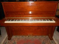 Steinway model 1098 with matching bench $6500.00 Fully