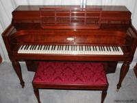 "This is an ""Early American"" model Steinway console"