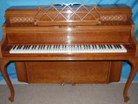 STEINWAY CONSOLE, LOUIS XV, 1976 This beautiful 1976