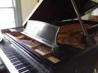 This piano, serial number 498859 built in 1986, has