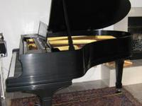 Steinway Model O (5ft. 11in.) Circa 1901 Ebon finish,