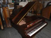 Steinway grand piano, Model M, Serial #230615, 1925.