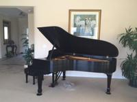 1996 Steinway Piano Model B Color: Black Conditoin: