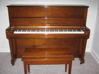 This piano was purchased from Steinway & Sons in 2005.