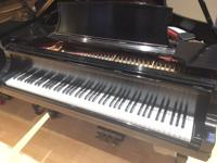 Beautiful Model B Steinway with Ebony Satin finish mint