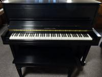 STEINWAY * * * STUDIO UPRIGHT * * * Visualize the