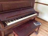 Steinway upright piano identification number 204157