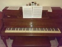 I am selling a made use of Steinway upright piano that