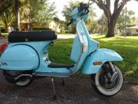 Lovely Vespa scooter rebadged Stella for the US market,