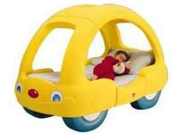 Cute car bed for toddler...... Includes mattress (like