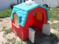 This is one of the larger playhouses made by step 2. It