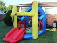 Step 2 inflatable jump and slide jumpy house in very