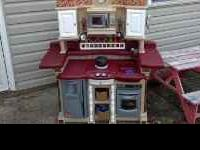 Step 2 kitchen in great condition. $100.00 or best