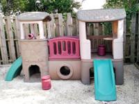 Step 2 Naturally Playful Clubhouse Climber Playhouse