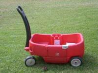 This is a vety nice two seater wagon with storage