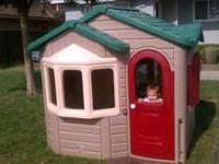 Up for sale is a step 2 home sweet home play house.