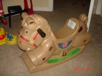 I have for sale a Step 2 Rocking Horse for $20.00 in