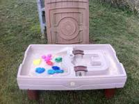 Step 2 sand and water table. Includes two original