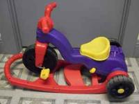 For sale is astep 2, tricycle with a push handle or the