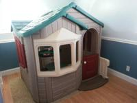 This Step 2 playhouse is large and has plenty of room