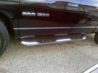 Weston Platinum Series step bars for a 2005 Dodge Ram