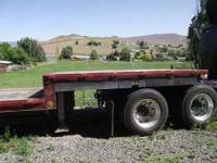 Use this 1986 Fontane Trailer to hual hay or Fruit or