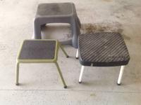 Step Stools.  $10 each  Call 652-5795