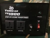 1000 Watt Step Up/Down transformer converts to 220-240
