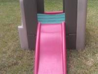 Step2 Kangaroo Climber Activity Gym with slide. It has