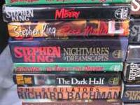 Here are 34 Stephen King books for an instant Stephen