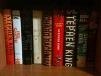 I have a collection of Stephen King books. I believe 23
