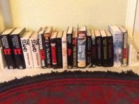 I have a large collection of Stephen King books. Most